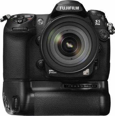 按下放大 FUJIFILM富士FinePix-S5pro 專業數位機身(不含鏡頭) 產品照片