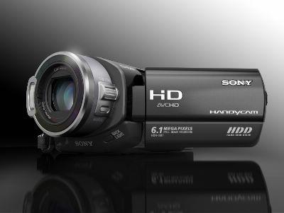 按下放大 SONY索尼HDR-SR7光碟攝錄放影機 產品照片