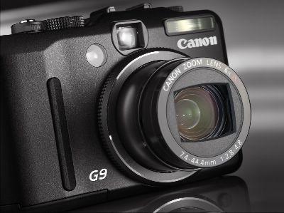 按下放大 CANON PowerShot-G9 產品照片
