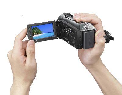 按下放大 SONY索尼HDR-CX12高畫質記憶卡式數位攝影機 產品照片
