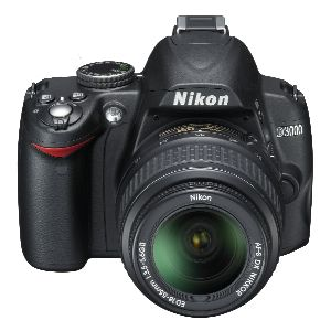 按下放大 NIKON藝康D3000專業數位機身(不含鏡頭) 產品照片