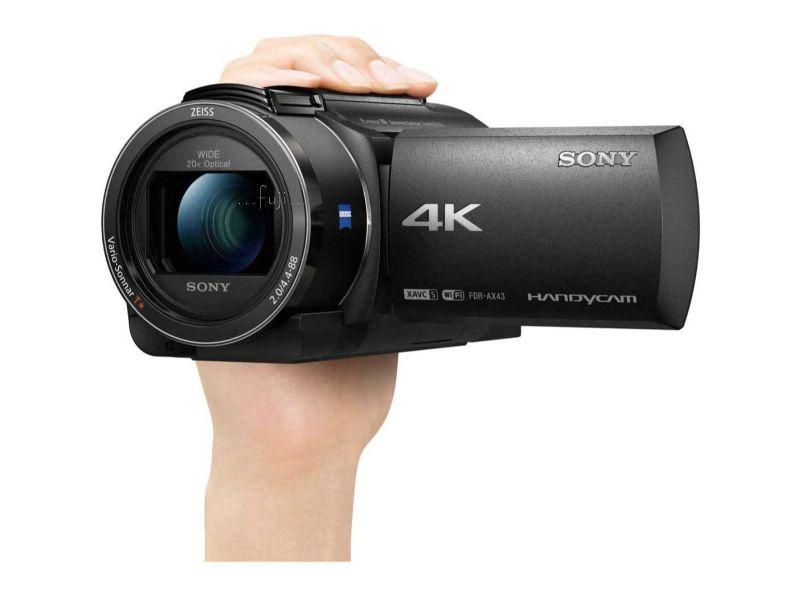 按下放大 SONY索尼FDR-AX43高畫質數位攝影機  產品照片